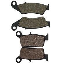 Plaquettes de frein avant et arrière, pour HONDA CR250 CR250R CR500 CR125 CR 125R 250R 500 XR250 XR400 XR 250 400 XR600R XR650L CRF 230 CRF230