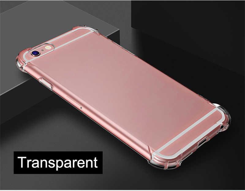 Chống sốc Rõ Ràng TPU Trường Hợp Đối Với Samsung galaxy S S8 S9 Cộng Với Lưu Ý 8 9 Samsung Note8 Note9 Samsung S8Plus di động điện thoại Siêu Mỏng Bìa