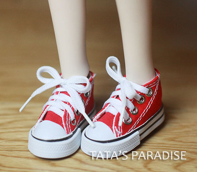 BJD  doll shoes Doll accessories SHOES red / pink / black  plimsolla  1/6 YOSD,1/4 MSD, 1/3 SD10girl, DD 1 6 1 4 1 3 bjd sd dd doll accessories doll clothes red fleece for bjd sd doll