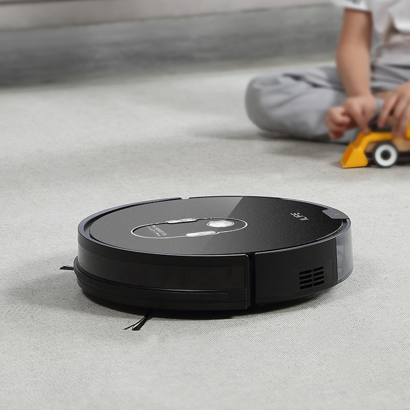 ILIFE A7 Robot Cleaner Vacuum Smart APP Remote Control for Hard Floor and Thin Carpet Automatic ILIFE A7 Robot Cleaner Vacuum Smart APP Remote Control for Hard Floor and Thin Carpet Automatic Recharge Slim Body