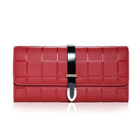 HIGHREAL New Design Fashion Multifunctional Purse Genuine Leather Wallet Women Long Style Cowhide Purse Wholesale And
