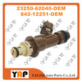 Used FUEL INJECTOR (6) FOR FITToyota 4Runner Tacoma Tundra 3.4L V6 5VZFE 23250-62040 842-12251 1999-2004
