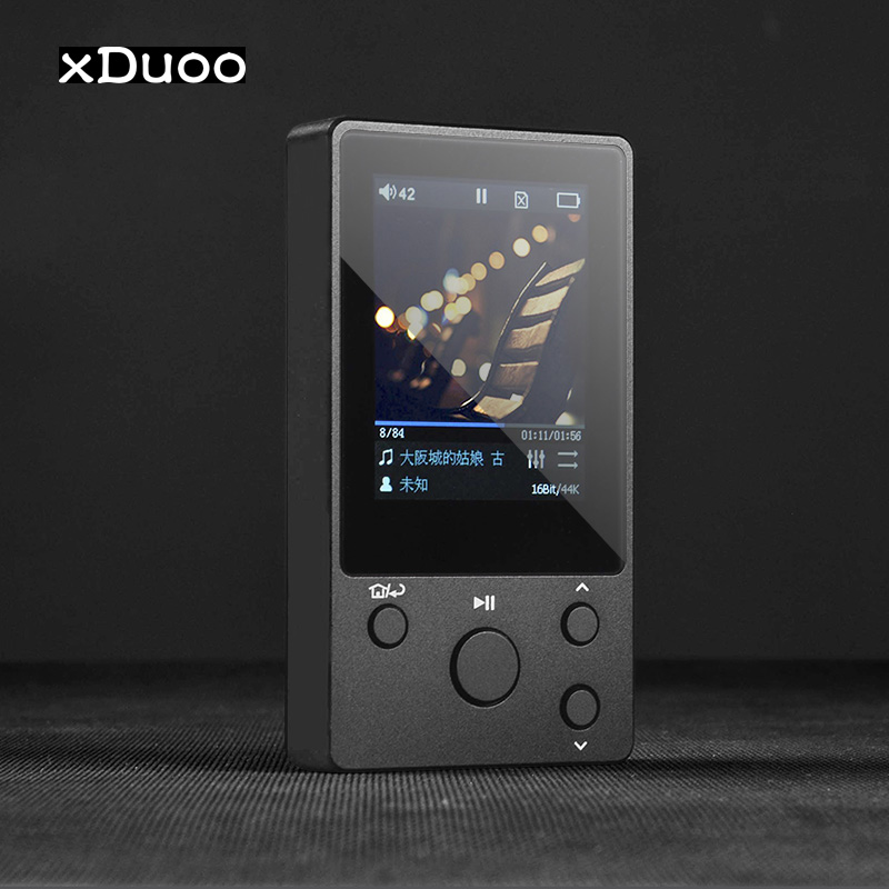 xDuoo NANO-D3 DSD HIFI MP3 Player DAP Metal Professional Lossless Music Player PCM 24Bit/192Khz HD Screen Support 256G TF Card