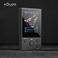 xDuoo NANO D3 DSD HIFI MP3 Player DAP Metal Professional Lossless Music Player PCM 24Bit/192Khz HD Screen Support 256G TF Card