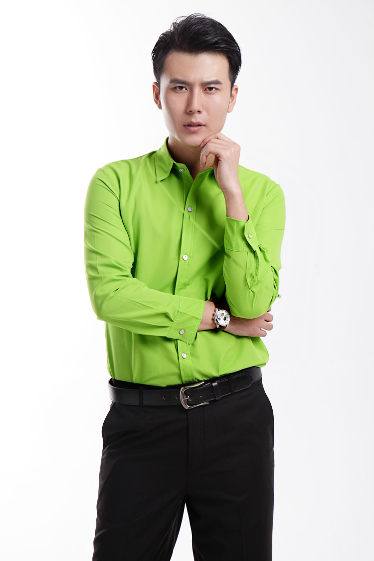 Online buy wholesale green tuxedo shirt from china green for Bright mens dress shirts