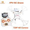 2016X6 Versão sw Upgrade MJX C4010 WIFI FPV HD camera 720 p 1.0mp helicóptero do rc drone quadcopter uav profissional vs syma X5sw