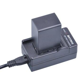 1 unids 2900 mAh bp-828 BP 828 batería cargador de batería kits para Canon vixia HF G30, G40, xa20 y xa25 Cámaras de vídeo Baterías