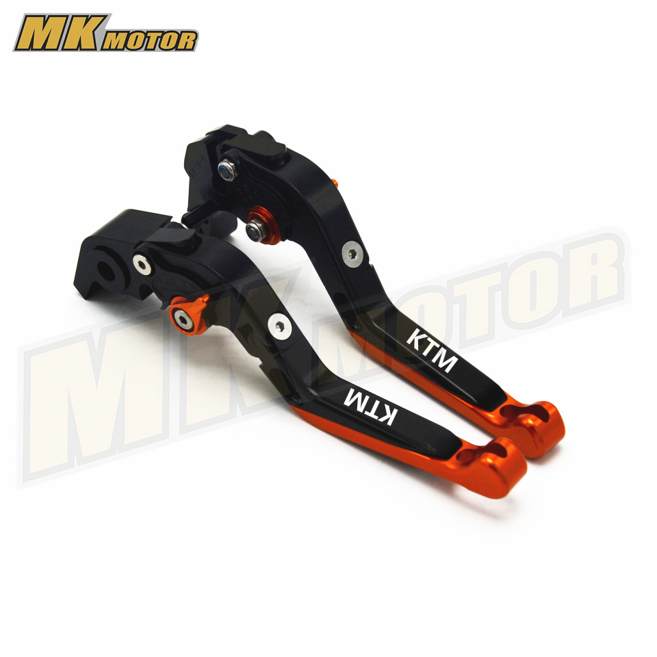 Motorcycle CNC Adjustable Foldable Lengthening Motorbike Brakes Clutch Levers  For KTM 1190 Adventure 2013 2014 2015 2016 motorcycle adjustable foldable brakes clutch levers and handelbar girps for kawasaki z1000 2011 2016 2012 2013 2014 2015