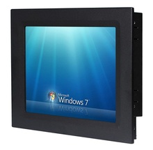 12.1 inch Industrial Panel PC, 1037U CPU, 4GB DDR3 RAM, 320GB HDD, Rugged 5-Wire Touchscreen, All in one touchscreen HMI