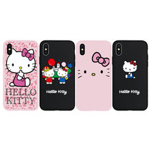 Nice For Iphone Xs Max Hello Kitty Case Cute Sailor Moon Cartoon Soft Case For Iphone 8plus Xr X 7 7p 6 6s 6p 8 Cover+stander+strap Phone Bags & Cases