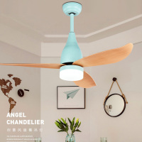 Eusolis Nordic Fan With Light Ventilador De Teto Com Lustre Led Ceiling Light Fan Bedroom Decor Lampe Designer Europeen