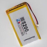 Shenzhen Technology 755497 5200mah 3 7v Lithium Polymer Battery 3 7V Volt Li Po Ion Lipo