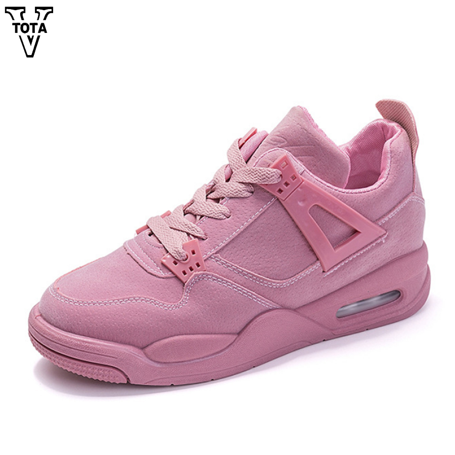 VTOTA New Sneakers Women Shoes Breathable Scarpe Donna Tenis Feminino Casual Trainers Chaussure Femme Footwear Sapato Feminino women shoes scarpe donna elastic boots botines mujer sapato feminino round toe chaussure femme schoenen vrouw over knee boots