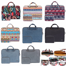 "Laptop Bag For Macbook Pro 15 15.4"" Case Pro 13 Retina 11 12 13 Portable Handbag 14 15.6 bag for Dell HP Xiaomi Notebook Shell"