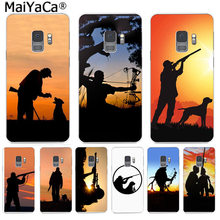 MaiYaCa Hunting Cool Logos Funny Phone Case Colorful Cute Cover for Samsung S9 S9 plus S5 S6 S6edge S6plus S7 S7edge S8 S8plus(China)