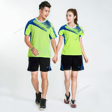 Adsmoney Mannen Vrouwen badminton shirt met shorts rok Jersey Sets sport Trainingspakken Uniformen kits tennis training jerseys Custom(China)