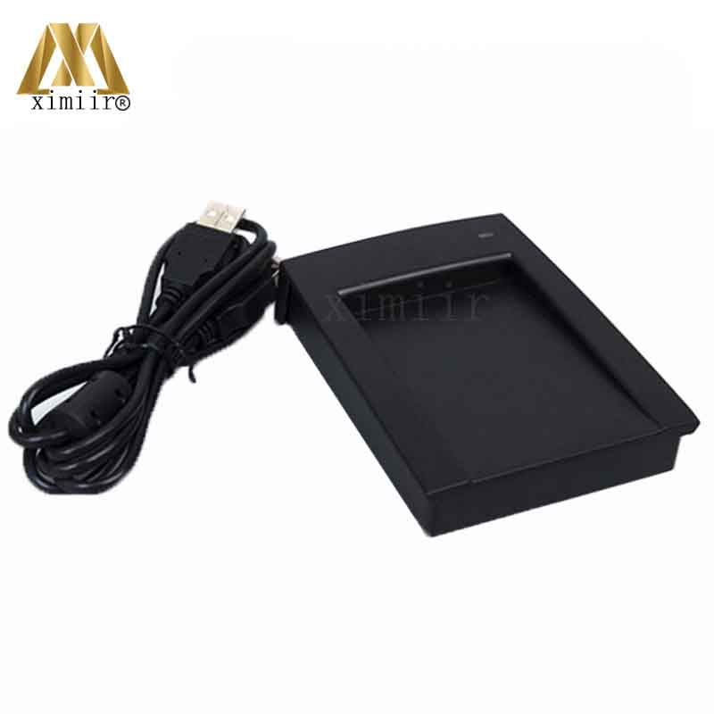 USB MF IC Card 13.56MHZ Smart Card Reader ZK CR10M USB Proximity Card Reader For Door Access Control And Time Attendance ic usb reader 13 56mhz usb ic reader for user enrollment mf m1 card enroller page 2