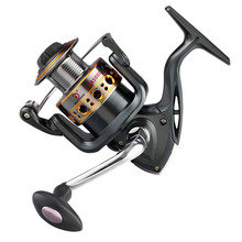YUYU Metal Fishing Reel Spinning Reel for ocean metal spool 500 1000 2000 3000 4000 5000 7000 12+1BB 5.2:1 sea Fishing wheel цена 2017