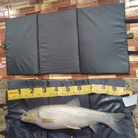 1PCS 95CM X 46CM Small Cloth Unhooking Mat For Carp Fishing Foldable For Fish Protection