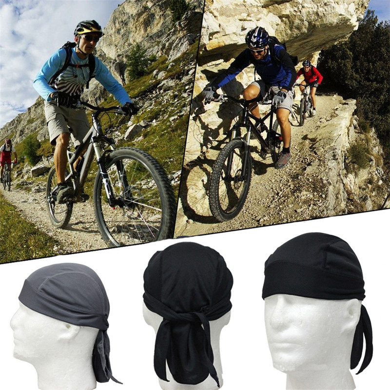 Men Cycling Cap Quick-drying Balaclava Headscarf Breathable Cycling Bandana Ciclismo Headband Skull Pirate Head Scarf