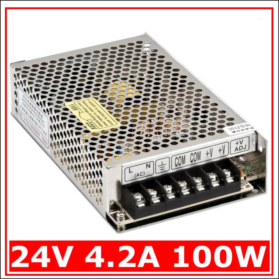 Electrical Equipment Supplies Power Switching Supply Single Output Mini Size Ms 100w 24v 42a