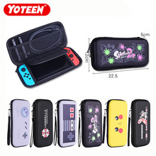 Yoteen Nintendo Switch Bag EVA Hard Case With Hand Strip Card Slot NS Protective Pouch Cable Accessories