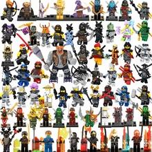 Legoings Ninjago Sets NINJA Heroes Kai Jay Cole Zane Nya Lloyd With Weapons Action Figures Toys for children Legoing Ninjagoings cheap hua tang xin yue PLASTIC Self-Locking Bricks 6 years old Made In China Compatible Legoing Ninjagoing Ninja Kids Toys Legoings