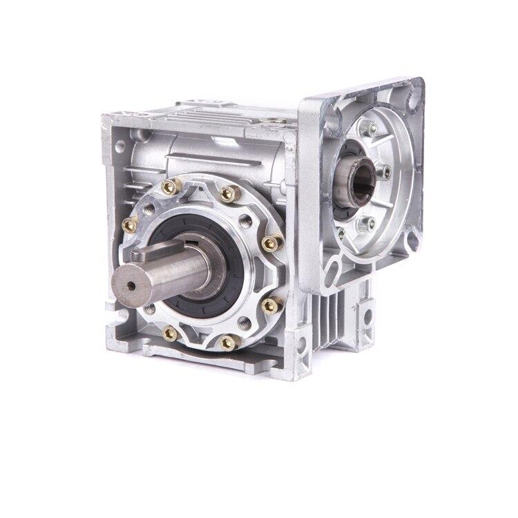 купить Ratio 60:1 NMRV050 370W Worm Gearbox 19mm Input Shaft 90 Degree Worm Gear Speed Reducer NEMA42 for Servo Motor Stepper Motor по цене 3672.98 рублей