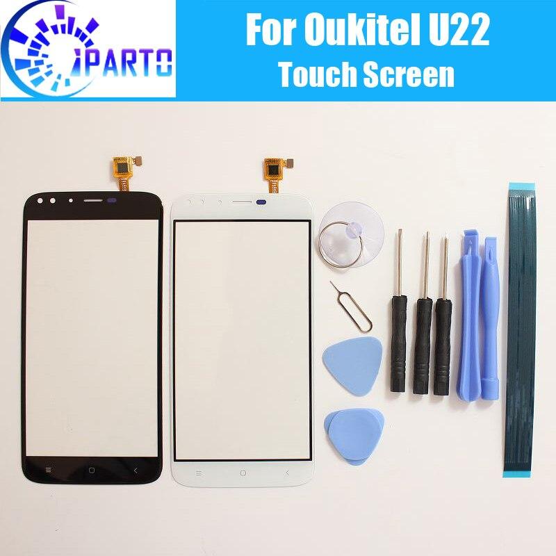 Oukitel U22 Écran Tactile En Verre 100% Garantie D'origine Digitizer Verre Panneau Tactile De Remplacement Pour Oukitel U22 + Cadeaux
