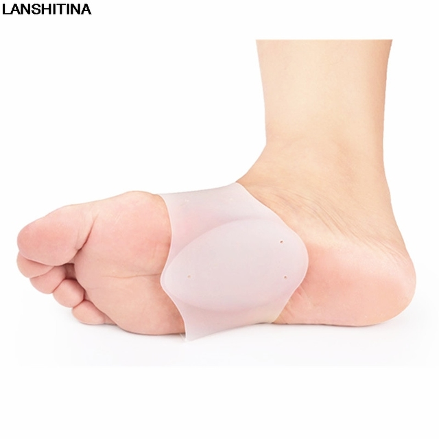 Bandages Insoles Magic Adhesive Pad Silicone Insole Flat Feet Arch Support Breathable Shoes Insoles For Men Women  Gel Cushion