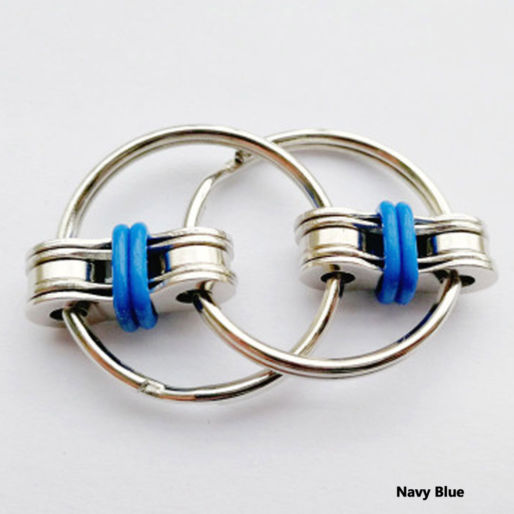 Automobiles & Motorcycles Shop For Cheap 2017 New Arrival Chain Fidget Toy Hand Spinner Key Ring Sensory Toys Stress Relieve Car Key Ring