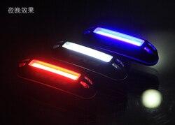 GUB M-38 tylne światło rowerowa lampka ostrzegawcza rowerowa zainstalowana na kierownicy sztyca podsiodłowa ładowanie rowerowe