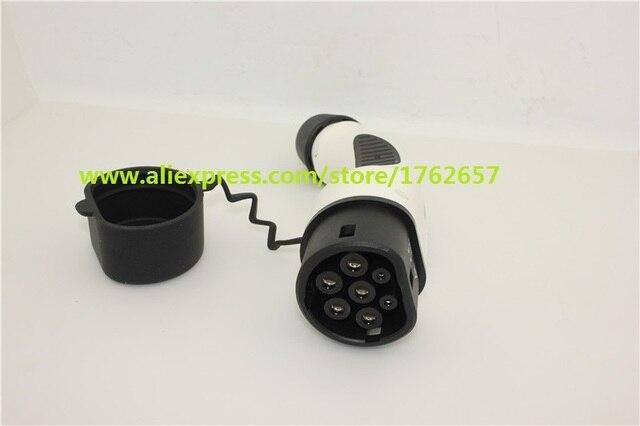 Type 2 Ev Plug 32a Single Phase Car Side Mennekes Iec 62196 European Standard
