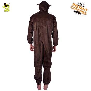 Indumenti Da Notte Per Uomo | Uomo Di Età Pigiami Scimmia Costume Degli Indumenti Da Notte Carino Scimmia Tuta Masquerade Scimmia Costumi Di Carnevale Del Partito Per Il Maschio