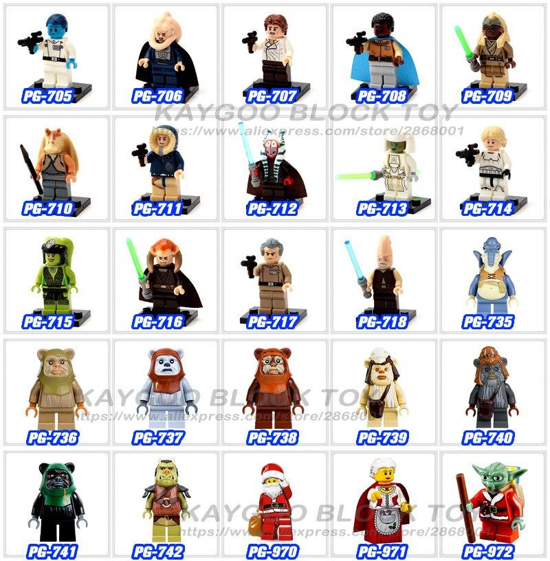 LEGO Star Wars Last Jedi Force Awakens Yoda Mini Figure from set 75042 75094