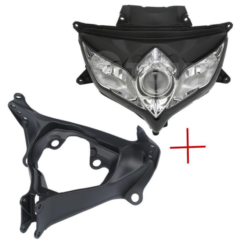 Upper Stay Fairing Headlight Bracket For Suzuki GSXR600 GSX-R 750 2006-2007