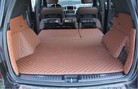 Best Carpets Special Trunk Mats For Mercedes Benz ML350 2015 Durable Waterproof Boot Carpets For ML