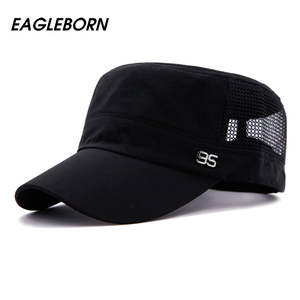 754a56289f1 Womail Flat Roof Army Cadet Patrol Bush Hats Baseball Caps