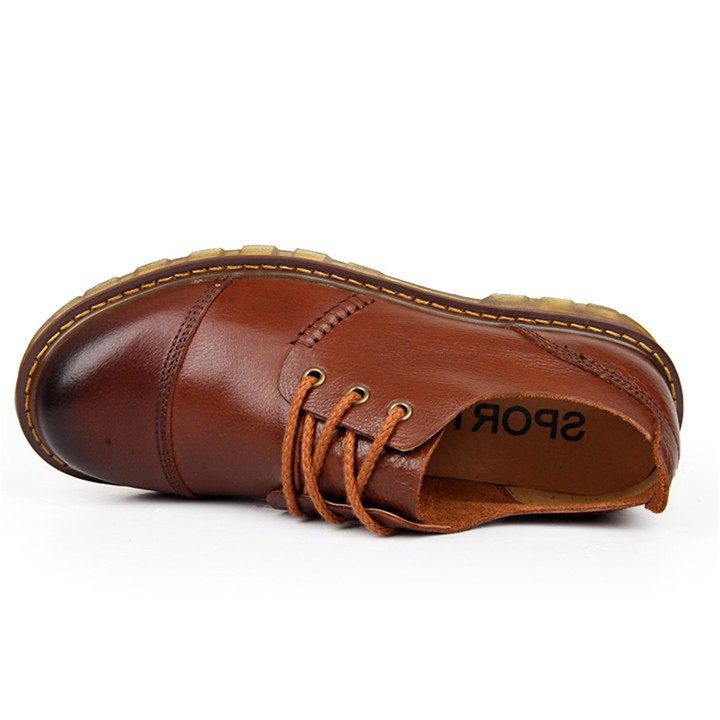 leather shoes men