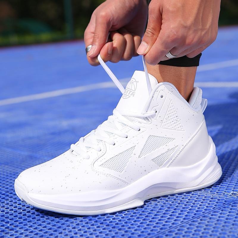53d856ad439 Mens Basketball Shoes 2019 New Arrival Man Breathable Basketball Non-slip  Professional Sneakers Jordan Shoes Zapatillas Hombre