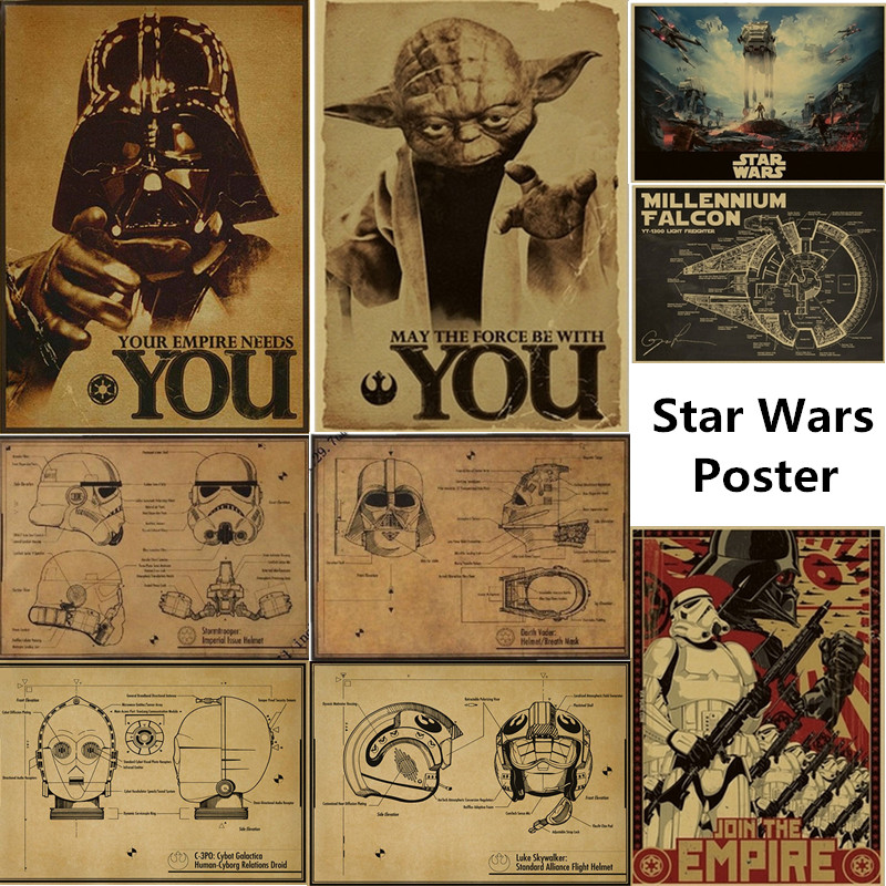 Top 10 Largest Star Wars Retro Wallpaper List And Get Free