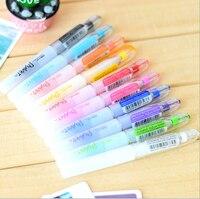10 Colors Water Chalk Pen Watercolor Pens For Scrapbooking Photo Album Marker Gel Pen Stationery