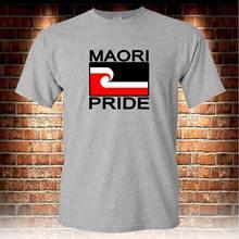 844db25ee6d 2018 новый для мужчин маори гордость киви Новая Зеландия Все черные воины  серый Remington логотип печати
