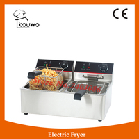 Countertop Electric Double Fryer With CE Certification KW 6L 2
