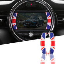 Central control navigation screen 3D stickers stickers car model for BMW MINI cooper countrymanclubman F56/F55/F54/F60(China)