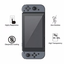 amzdeal Ultra Clear Thin HD PET Film Screen Protector Anti Scratch for Nintendo Switch Video Game
