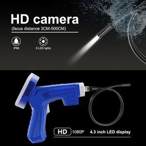 Image 3 - 4.3 インチ LCD 工業用内視鏡のための 8 ミリメートル 1080 HD マイクロビデオ検査カメラ自動車修理ツールヘビハードハンドヘルド内視鏡