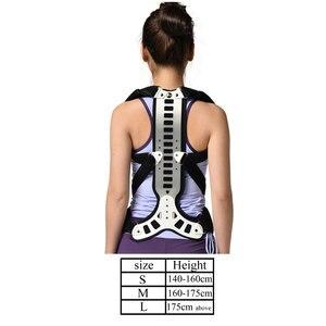 Image 2 - Corrector de postura para hombre y mujer, soporte cómodo para espalda y hombros, dispositivo médico para mejorar la mala postura, 1 Uds.
