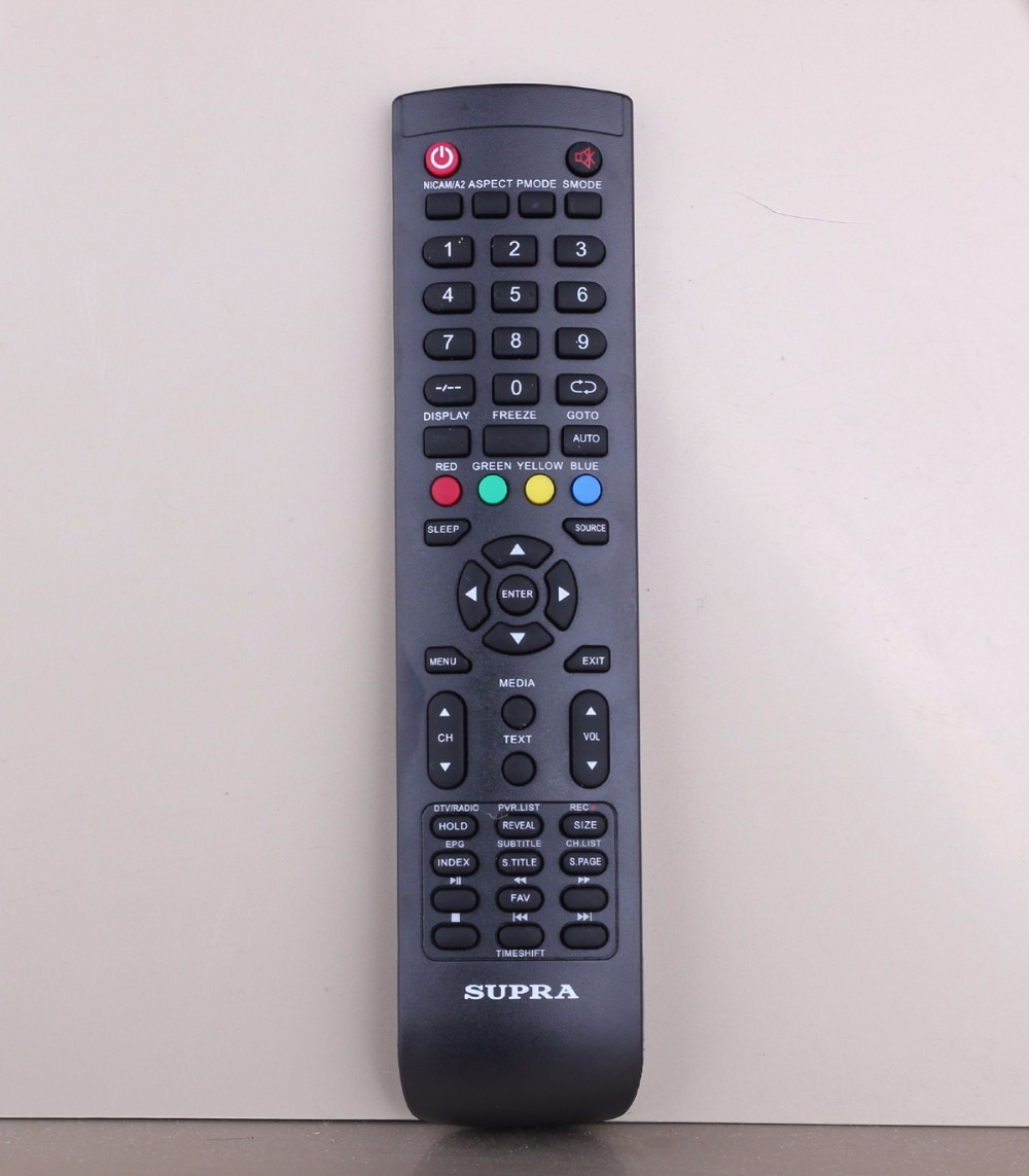 Original remote control for Supra TV  LED STV-LC50T400FL 48T400FL 42T400FL 40T860FL 6277FL 46500FL 46650FL светильники supra lc 03