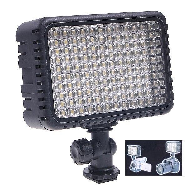 CN-LUX1500 130 LED lumière vidéo pour caméra DV caméscope lumière de lampe de chaussure chaude 5600 K/3200 K pour Nikon Canon